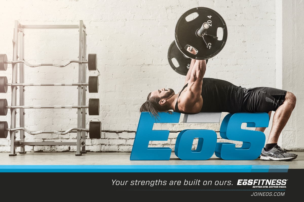 Image of EoS Fitness print ad